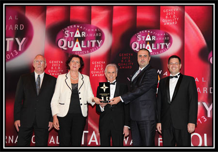 Star Award for quality Ekolog